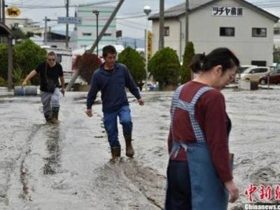 """台风""""海贝思""""已致日本84人死亡9人失踪"""