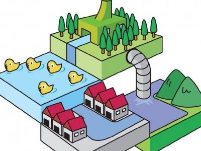 中心城区东兰组团污水接入工程顺利竣工