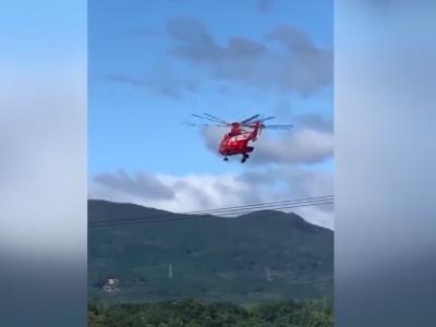 日本救灾直升机失误,77岁女子从40米空中坠落身亡
