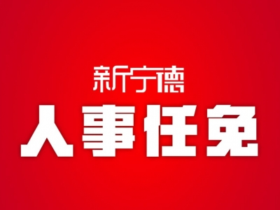 宁德市人民政府关于林晓东等职务任免的通知