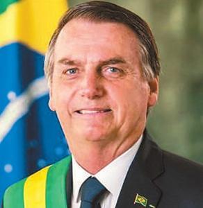巴西总统博索纳罗  今起对我国进行国事访问