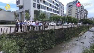 市委书记郭锡文再次检查中心城区黑臭水体整治工作