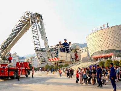 """霞浦举办""""119""""消防宣传月系列活动"""