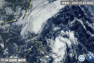 台风凤凰未来24小时生成 11月台风超生或平纪录