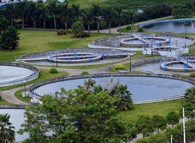 东区污水处理厂完成通水调试