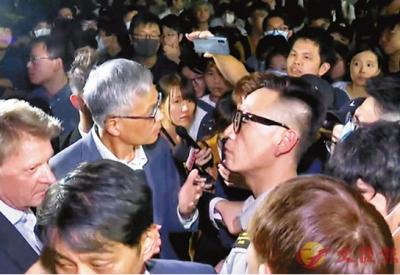 被暴徒围骂5小时,香港科大校长:不会因遭受羞辱而屈服
