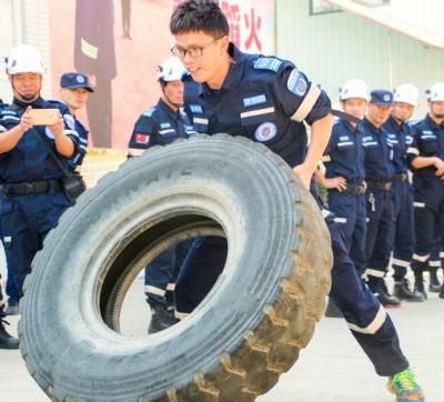福安市应急管理系统技能竞赛在森林消防营区举行