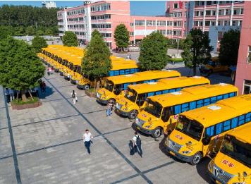 """教育部:严厉打击""""黑校车"""",为学生安全出行保驾护航"""