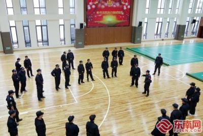 宁德法院执行强制措施规范化培训 模拟实操演练