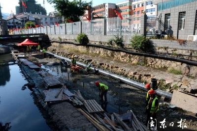 中心城区水环境治理 | 党员干部一线攻坚黑臭水体整治