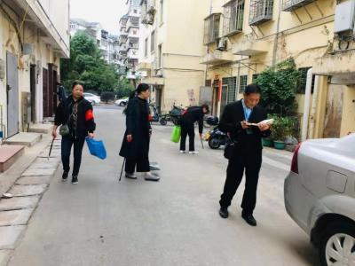 兰亭社区文明督导队助力创文明城
