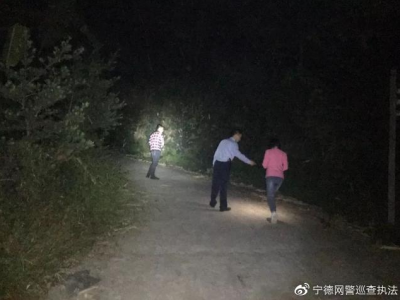 负气离家出走企图自杀,宁德东侨民警连夜寻回轻生男子