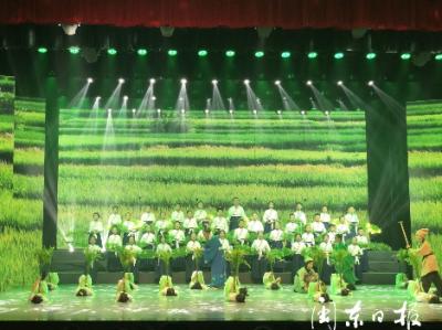 寿宁县举办第四届中小学生国学经典诵读比赛