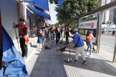 """东侨区举行""""聚力创城 我在行动""""创建全国文明城市清洁家园活动"""