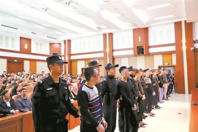 宁德法院集中宣判12件恶势力犯罪案件