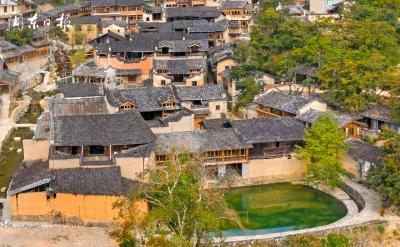 屏南熙岭乡四坪村成为乡村旅游的新热点
