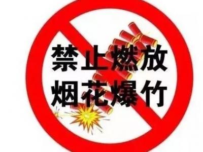 创城|蕉城一男子违法燃放烟花爆竹被罚!