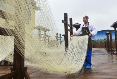 中国特色小镇穆阳:一碗线面拉出亿元产值