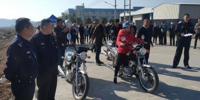 福鼎交警:摩托车驾考送下乡