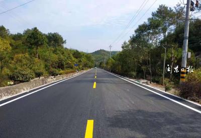 寿宁犀溪镇双港村至西浦村段沥青路面改造工程顺利完工