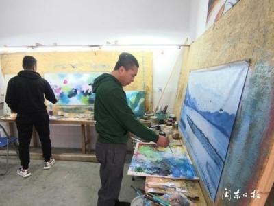 新春走基层|霞浦长沙:用画笔绘就新生活