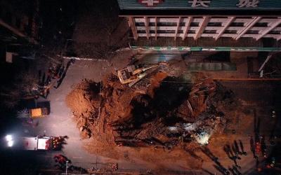 西宁市路面塌陷事件搜救工作结束  致9人遇难 1人失踪