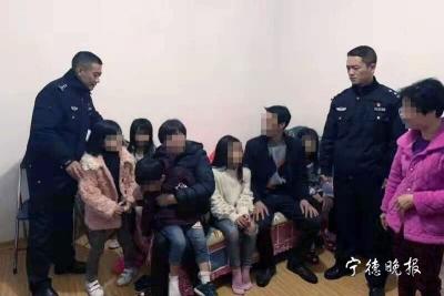 """网传""""蕉城5名小孩失踪""""   警方通报:男子为""""躲债""""谎报警情"""