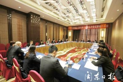 郭锡文参加屏南团和市政协二组审议讨论