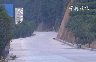 福安晓阳镇通往白云山主干道节前竣工
