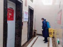 做好全市4006台电梯消毒工作