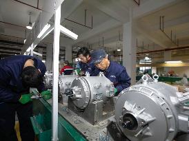 建成年产量可达十多万台!时代电机新能源汽车电机总部基地项目建设进行中