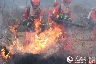 人民网|福安森林消防大队与福安市防灭火指挥部开展森林防火灭火联合演练