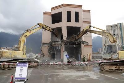 东侨:塔南片区改造项目已征收房屋拆除工作正式启动