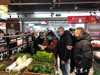 """古田商业大世界市场""""农+超""""升级改造项目将于5月底完工"""