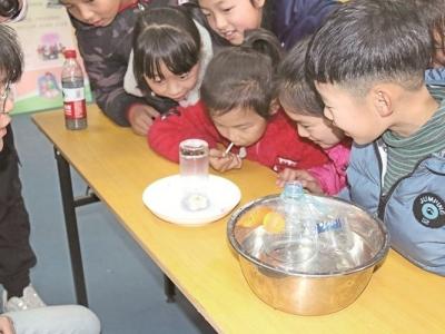 屏南城东社区:校地合作 给孩子一个温暖寒假