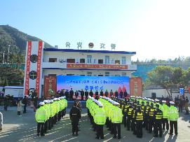 2020年春运闽浙交通联勤服务站正式启动