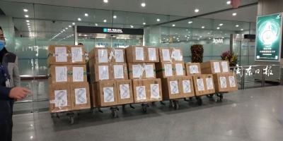 众人拾材火焰高,霞浦县第一批海外捐赠5万只口罩抵达