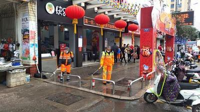 屏南:中心城区开展大消杀工作 全面做好疫情防控