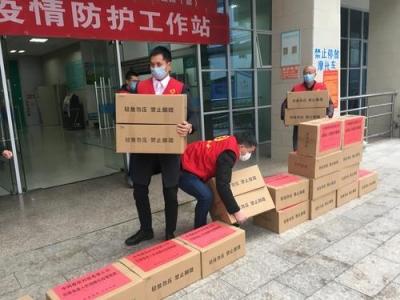 当地爱心企业捐赠5万只口罩助力屏南抗击疫情