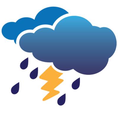 近期雷阵雨天气多发 市民出行要备好雨具