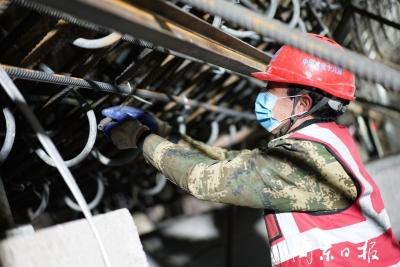 省重点项目周宁抽水蓄能电站有序开展复工工作
