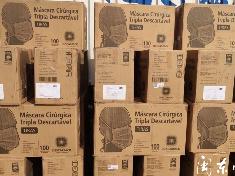 霞浦:香港太平绅士捐赠5万个口罩