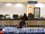 国家税务总局征期内无法申报企业可继续申请延期