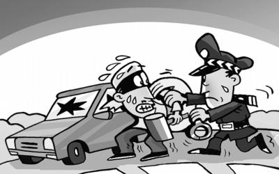 蕉城5名系列盗车嫌犯落网  专于凌晨偷窃高档摩托车