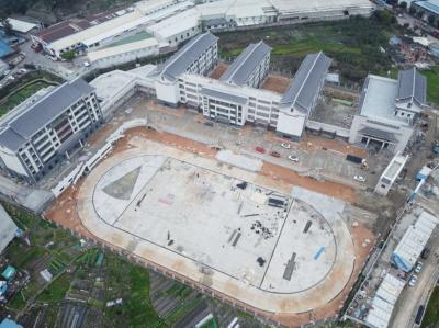 蕉城民族实验小学新校区建设项目复工  预计3月底全面完工  并在今春开学投入使用