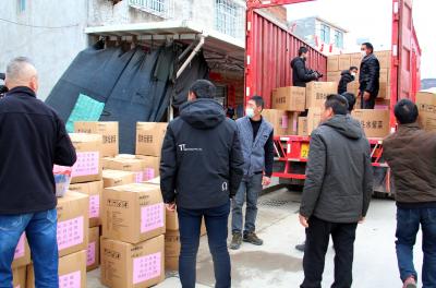 霞浦:119户村民捐赠30多万元优质紫菜支援武汉