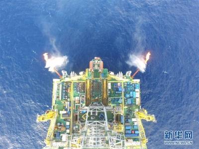 """试采创纪录 我国率先实现水平井钻采深海""""可燃冰"""""""