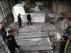福安湾坞:捣毁一处非法造纸厂