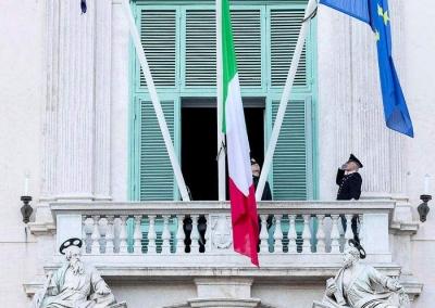 意大利新增确诊病例4053例 累计确诊105792例