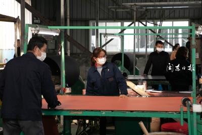 福建邦德复工有序,加快建设年产10万吨超纤合成革生产线